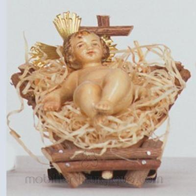 statue de la vierge à l'enfant couronnée 3