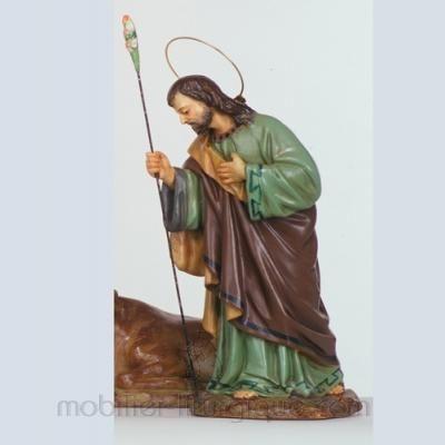 Statue-Vierge-Enfant-couronnée-marbre-STEX0133