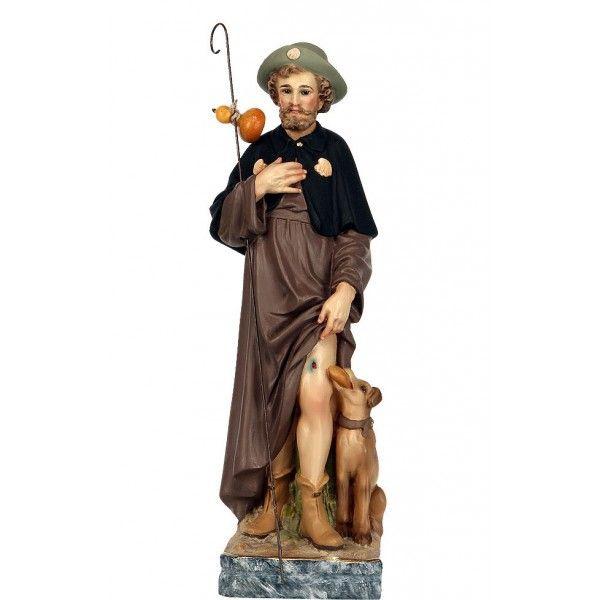 Statue de l 39 assomption de la vierge marie en bois color for Statue vierge marie pour exterieur
