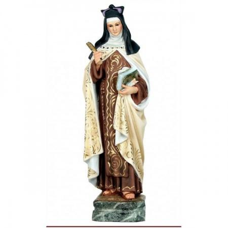 Statue de la Vierge à l'Enfant en marbre blanc
