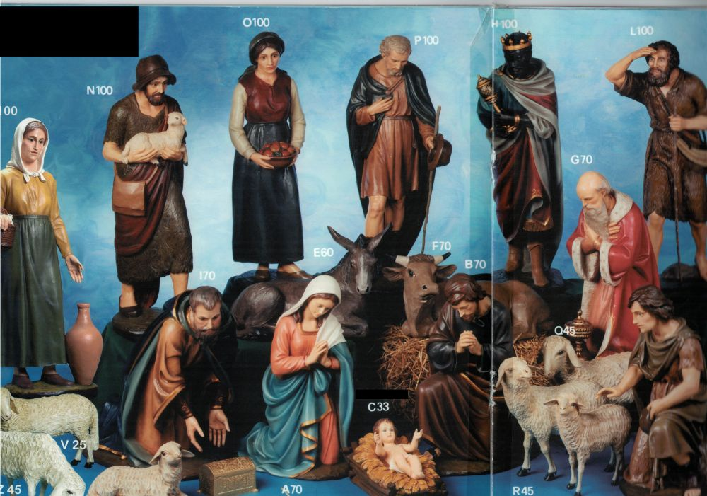Lot Crèche 8 personnages n°17 CRLO0011-003
