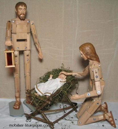 Sainte-Famille-creche-180cm-bois-CRLO0052
