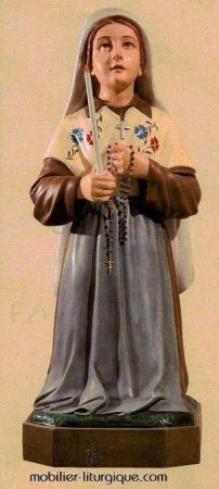 Statue Ste Bernadette ML460080
