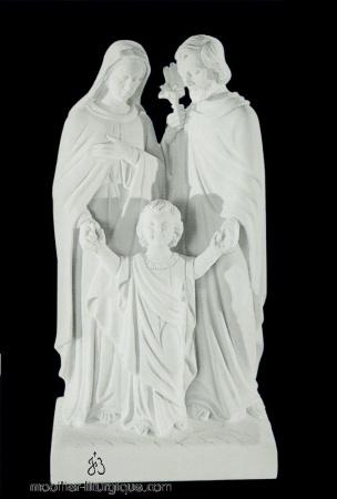 Statues religieuses Sainte Famille
