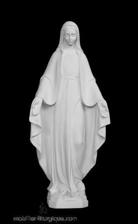 Statue-Vierge-Miraculeuse-marbre-ML070077