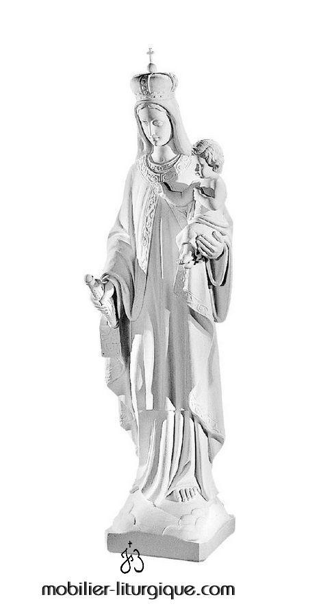 Statue-Vierge-Mont-Carmel-marbre-STEX0009