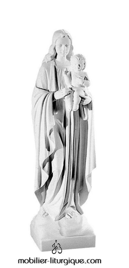 Statue-Vierge-Enfant-marbre-STEX0116