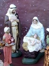 STCR0002-003 Sainte Famille Crèche Maliba n°9 - 25, 40 et 60 cm