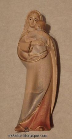 Statue Vierge à l'enfant ML020120-010
