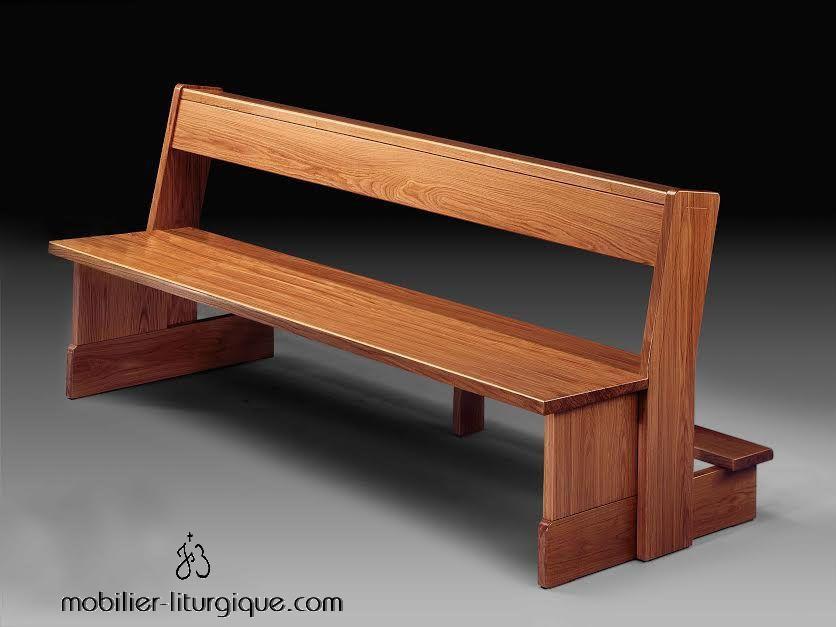 banc d'église mobilier-liturgique.com copie