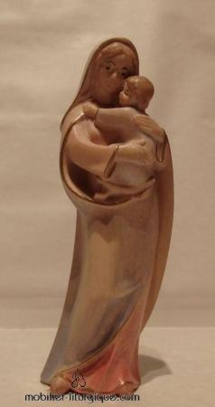 Statue Vierge à l'enfant ML020120-010 1
