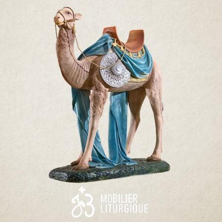 Animal pour crèche de 85 cm : Chameau
