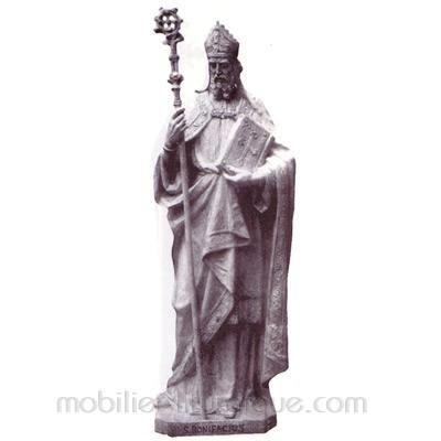 Benoît : statue sur mesure