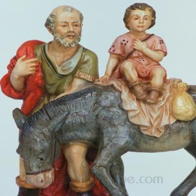 Berger l' ane et l' enfant