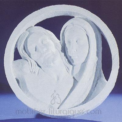Christ avec la Vierge Marie