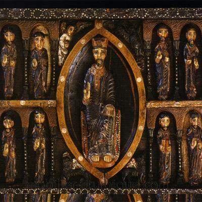 Christ avec les apôtres