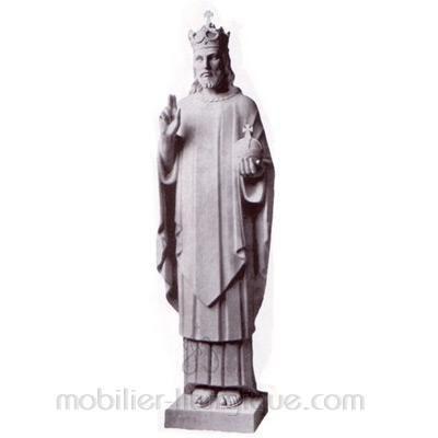 Christ Roi : statue sur mesure