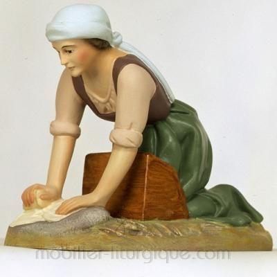Femme au lavoir