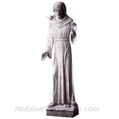 François : statue sur mesure