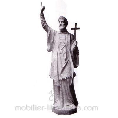 François Xavier : Statue sur mesure
