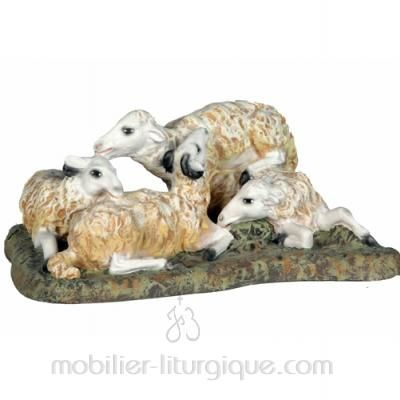 Groupe moutons