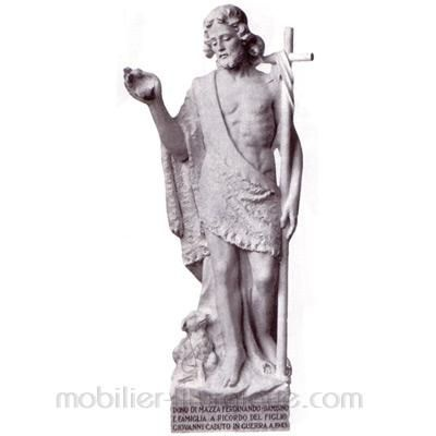 Jean Baptiste : statue sur mesure