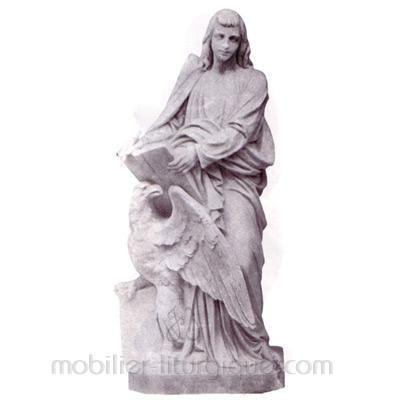 Jean l'évangéliste : statue sur mesure