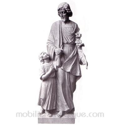 Joseph : statue sur mesure