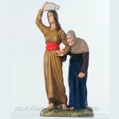 La femme et le Vieillard