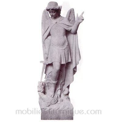 Michel Archange : statue sur mesure