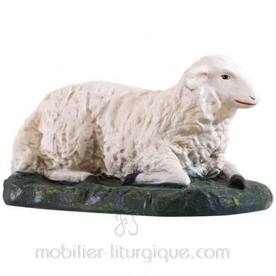 Mouton couché X 2