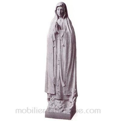 Notre Dame de Fatima : statue sur mesure