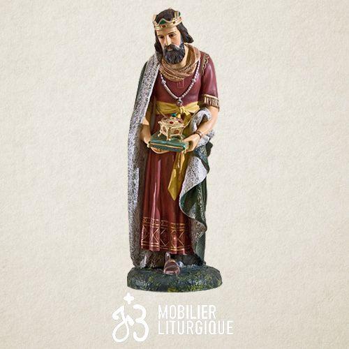 Personnage pour crèche de 85 cm : Roi Mage Gaspard
