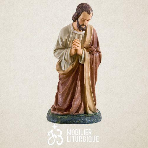 Personnage pour crèche de 85 cm : Saint Joseph