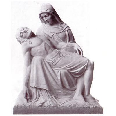 Piéta : statue sur mesure
