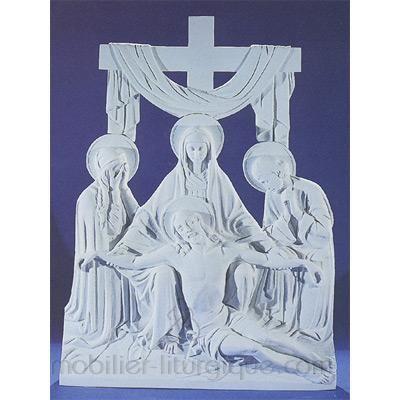 Piétà (bas relief)