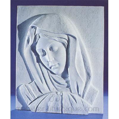 Plaque de la Vierge