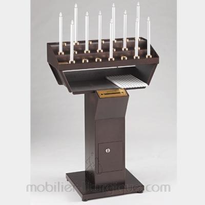 Porte cierge electrique 21 cierges