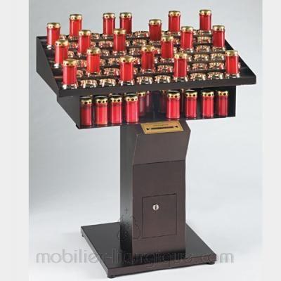 Porte cierge electrique 60 bougies