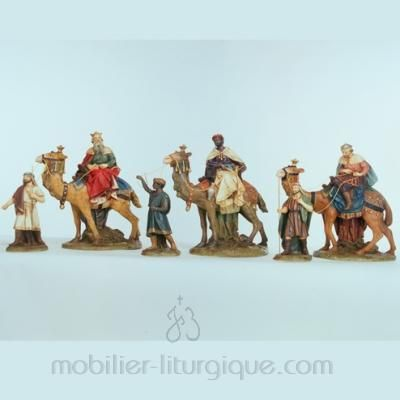 Rois Mage et les chameaux