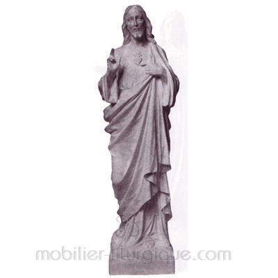 Sacré Coeur de Jésus : statue sur mesure