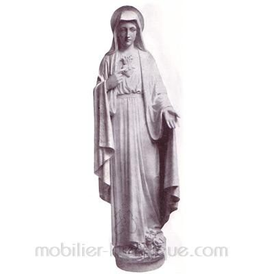Sacré Coeur de Marie : statue sur mesure