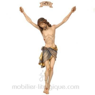 Statue Christ en croix