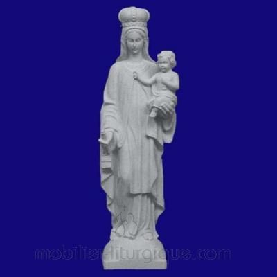 Statue de la Vierge De Carmel