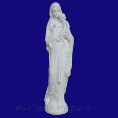 Statue de la Vierge et l'Enfant