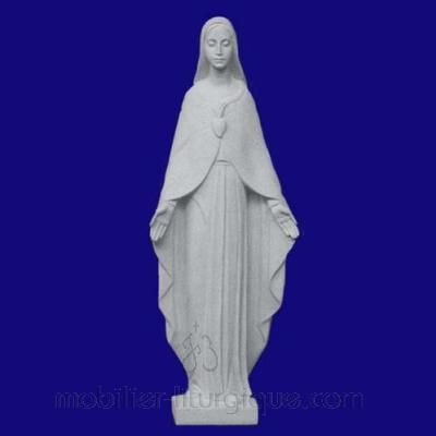 Statue du Sacré Coeur de Marie