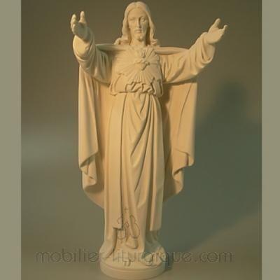 Statue Sacré Coeur de Jésus