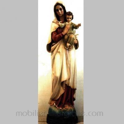 statue Vierge à l' enfant