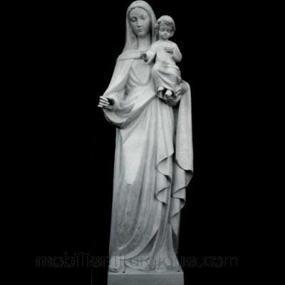 statue Vierge a l'enfant