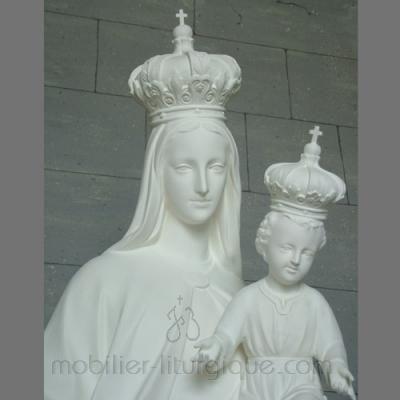 statue Vierge de Carmel et l'enfant